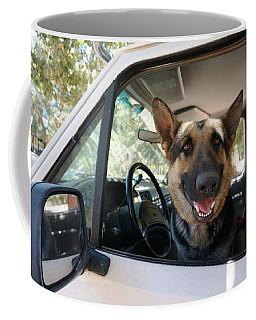 In The Driver's Seat  Coffee Mug
