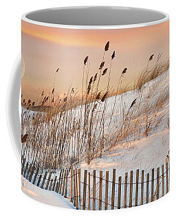 Coffee Mug featuring the photograph In The Dunes by Robin-Lee Vieira