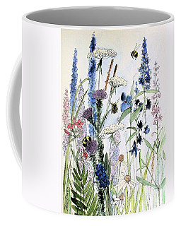 In The Garden Coffee Mug by Laurie Rohner