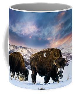 In The Grips Of Winter Coffee Mug