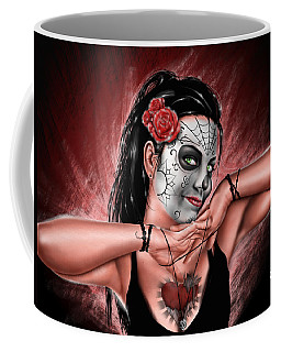 In The Hands Of Death Coffee Mug