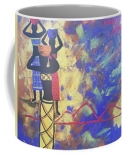 In The Heat Of The Day Coffee Mug by Judi Goodwin