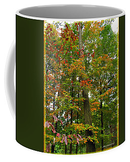 Coffee Mug featuring the photograph In The Height Of Autumn by Joan  Minchak