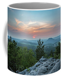 In The Land Of Mesas Coffee Mug