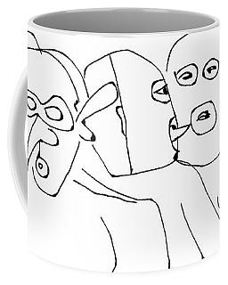In The Leather Bar Coffee Mug