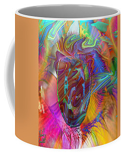 Coffee Mug featuring the mixed media In The Light by Kevin Caudill