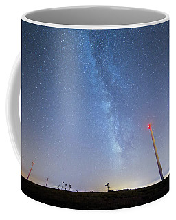 Coffee Mug featuring the photograph In The Middle by Bruno Rosa