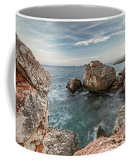 In The Middle Of The Rocks Coffee Mug