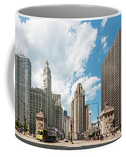 In The Middle Of Wacker And Michigan Coffee Mug