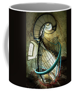 In The Old Lighthouse Coffee Mug