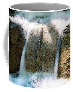 Coffee Mug featuring the photograph In The Pit by Alison Frank