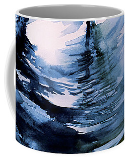 Coffee Mug featuring the painting In The Ripple by Allison Ashton