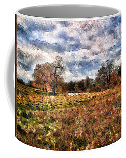 Coffee Mug featuring the digital art In The Rough by Leigh Kemp