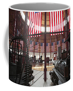 In The Roundhouse At The B And O Railroad Museum In Baltimore Coffee Mug