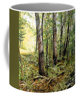 In The Shaded Forest  Coffee Mug