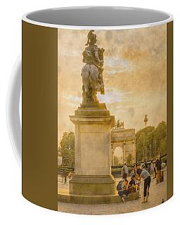 Paris, France - In The Shadow Of Glory Coffee Mug