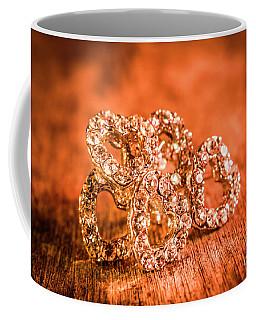 In The Shape Of Hearts Coffee Mug