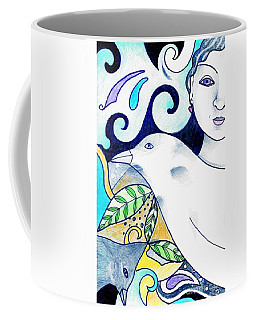In The Spirit Of Unity 1 Coffee Mug by Helena Tiainen