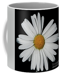 In The Spotlight White Daisy Coffee Mug
