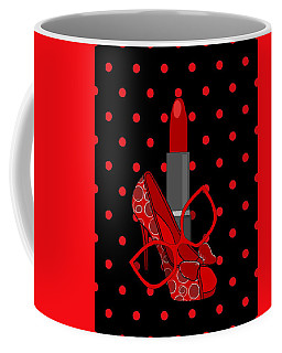 In Vogue - Fashion Illustration Coffee Mug
