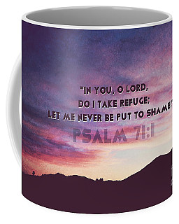 In You I Take Refuge Coffee Mug