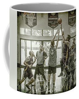 Coffee Mug featuring the photograph In Your Face by Ronald Santini
