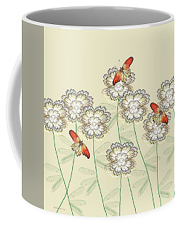 Incendia Flower Garden Coffee Mug by Rosalie Scanlon
