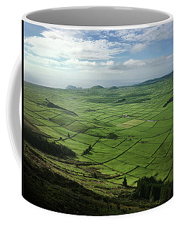 Coffee Mug featuring the photograph Incide The Bowl Terceira Island, Azores, Portugal by Kelly Hazel