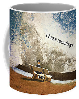 Incoming - Mondays Coffee Mug by Thomas Blood