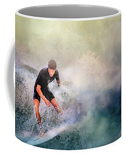 Coffee Mug featuring the photograph Incoming by Wallaroo Images