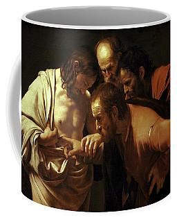 Incredulity Of Saint Thomas Coffee Mug