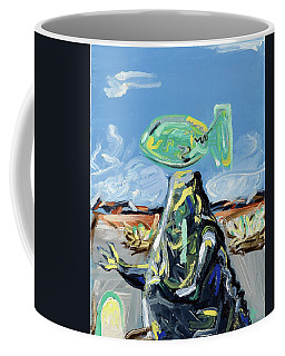 Coffee Mug featuring the painting Incubator Of Anxiety by Ryan Demaree