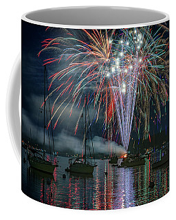 Coffee Mug featuring the photograph Independence Day In Maine by Rick Berk