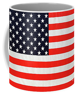 Independence Day Large Scale Oil On Canvas Original Landscape American Flag United States Flag Coffee Mug