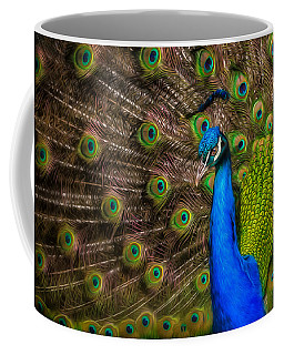 India Blue Coffee Mug
