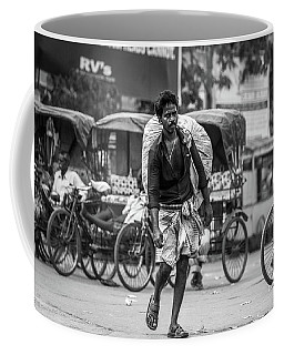Coffee Mug featuring the photograph India by Chris Cousins