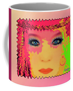 Coffee Mug featuring the photograph Indian #193 by Barbara Tristan