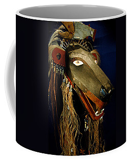 Indian Animal Mask Coffee Mug