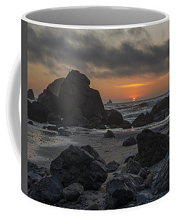 Indian Beach Sunset Coffee Mug