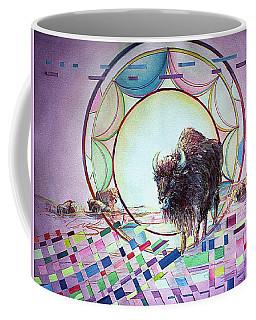 Indian Buffalo Circle Coffee Mug