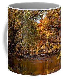 Indian Creek In Fall Color Coffee Mug