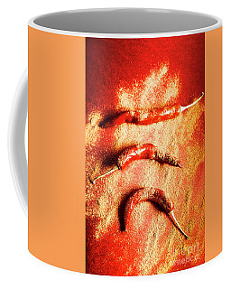 Indian Food Seasoning And Spices Coffee Mug