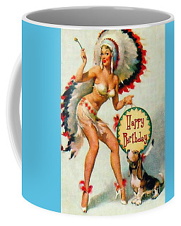 Indian Girl - Birthday Celebration Coffee Mug
