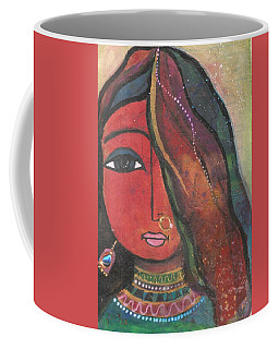 Indian Girl With Nose Ring Coffee Mug