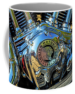 Indian Motor Coffee Mug by Keith Hawley