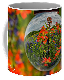 Indian Paintbrush And Bluebonnets Coffee Mug