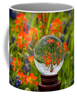 Indian Paintbrush Crystal Ball Coffee Mug