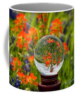 Indian Paintbrush Crystal Ball Coffee Mug