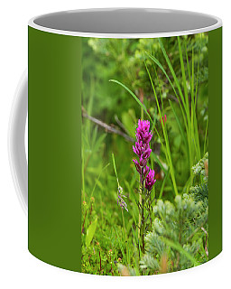 Magenta Paintbrush Coffee Mug