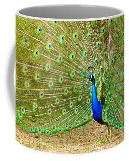 Indian Peacock Coffee Mug